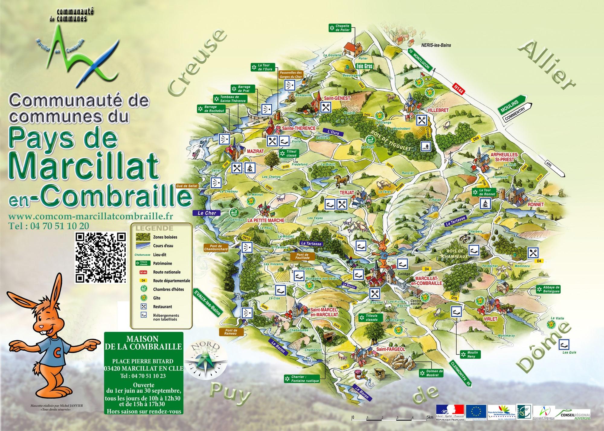 Carte communauté de communes