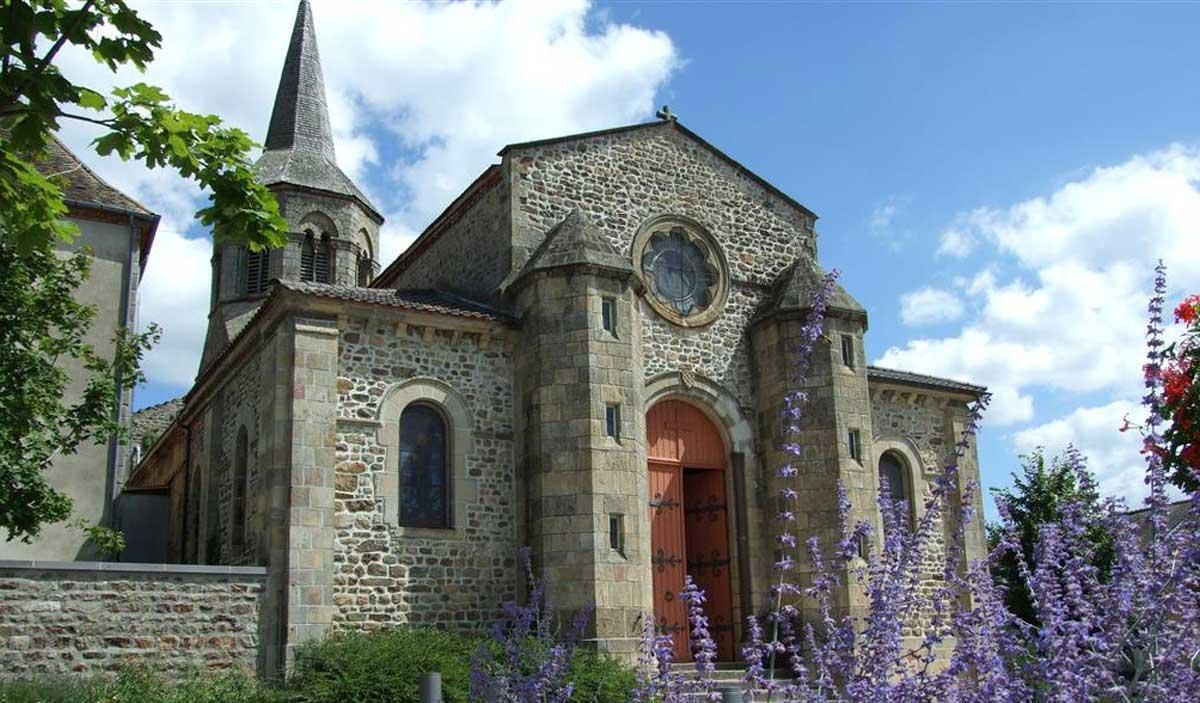 Eglise de Marcillat en Combraille